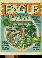EAGLE #100 weekly British comic book February 18 1984 VG+