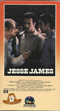 Jesse James (VHS) Tyrone Power, Henry Fonda, Nancy Kelly ORIG. PLAYHOUSE RELEASE