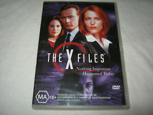 The X Files - Gillian Anderson - Ex Rental DVD - R4