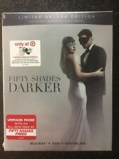 Fifty Shades Darker (Blu-ray/DVD/Digital HD, 2017; Target Deluxe Edition) NEW