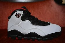 WORN 2X Nike Air Jordan 10 Retro Double Nickel 45 Size 8 310805-102 Chicago