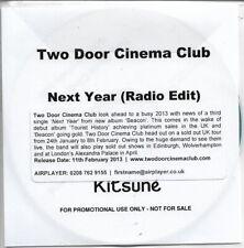 Two Door Cinema Club Next Year Promo CD Single