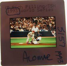 Roberto Alomar Toronto Blue Jays Chicago White Sox Hof 2011 Original Slide 48