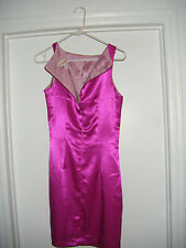 Pink Summer Dress  Zippered made in USA Carabella Collection  Small Style #904