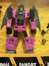 TRANSFORMERS BUZZWORTHY BUMBLEBEE WORLDS COLLIDE WAR FOR CYBERTRON FANGRY