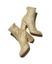 Laurence Dacade Melody Glitter Block-Heel Boot
