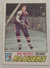 1977-78 OPC O-Pee-Chee Dave Maloney Card 41