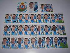 R.C.D. ESPANYOL COMPLETO LIGA BBVA ESTE 2012-13 (27 CROMOS)