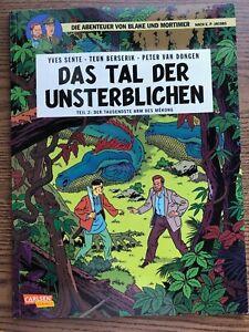 """Comic, Blake u. Mortimer,""""Das Tal der Unsterblichen"""",Teil2: Der tausendste Arm.."""