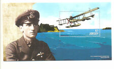 Jersey World War I-Seaplane - Military min sheet mnh August 2015-Aviation