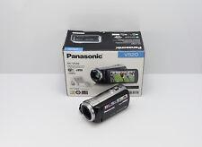 PANASONIC HC-V520 CAMCORDER BOXED SD / SDHC CARD HD HIGH DEFINITION VIDEO CAM