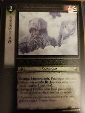 Lord of the Rings CCG Fellowship 1U135 Saruman's Frost PORTUGUESE LOTR TCG