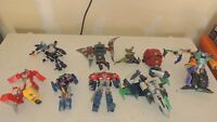 9 Transformers Lot see pictures