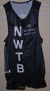 Pearl Izumi Elite Pursuit Tri Singlet Cycling Jersey Half Zip Shirt Medium