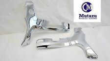Mutazu Chrome Frame Covers ABS Plastic for Suzuki Hayabusa GSXR 1300