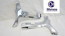 Mutazu Chrome Frame Covers ABS Plastic for Suzuki Hayabusa GSXR 1300
