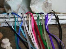 6mm Satin Ribbon, All colours, Thin ribbon Trim, 5 Metres, Craft, Wedding,Cards