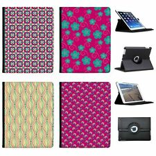 Pink Extravaganza Folio Cover Leather Case For Apple iPad