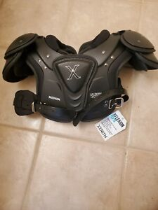 Xenith Shoulder Pads Youth Medium Xflexion Flyte Football New