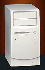 PC RETRO CASE ACM605X Micro ATX / Mini ITX Tower Computer Case in Beige