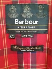 Barbour Black Jacket Coat size XL very good condition