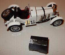 Danbury Mint Car 1931 Mercedes Benz SSKL 1:24 White W Box