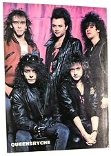 Queensryche / Aerosmith / Geoff Tate / Magazine Full Page Pinup Poster Clipping
