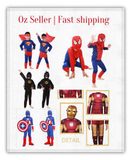 Polyester Superhero Costumes for Boys