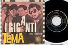 I GIGANTI Tema La bomba atomica 45rpm 7' PS 1966 ITALY VG Beat Prog