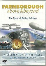 FARNBOROUGH ABOVE & BEYOND DVD BRITISH AVIATION