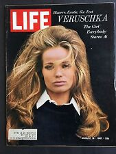 Life Magazine  August 18 1967   Model Veruschka