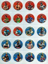 1995 COCA-COLA FOOTY FACES-COMPLETE SET