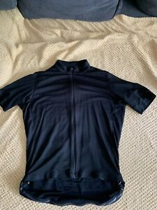 RAPHA Men's Special Edition Classic Wool Blend Cycling Jersey II Black XL
