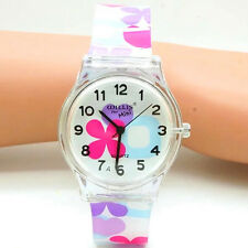New Children Watches Flower Elegant Students Gift Watch Children Girl Wristwatch