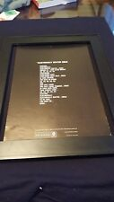The Waterproof Candle Electrically Heated Child Rare Promo Poster Ad Framed!
