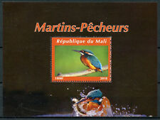 Mali 2018 CTO Kingfishers Kingfisher 1v M/S II Bird Birds Stamps