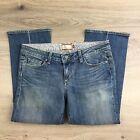 Paige Laurel Canyon Cropped Women's Jeans Size 31 NWOT Actual W33 (T13)