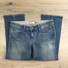 Paige Laurel Canyon Cropped Women's Jeans Size 31 NWOT Actual W33  (T13)