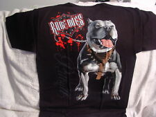 PITBULL TERRIER RUDE DOGS SERIES T-SHIRT
