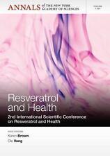 NYAS-Resveratrol and Health (UK IMPORT) BOOK NEW