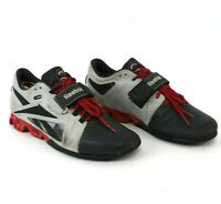 Reebok Mens CrossFit Lifter Gravel U Form Leather Weight Lifting Shoes Size 9.5