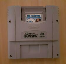 SNES Gameboy adaptador + juego la los Pitufos (Super Nintendo)
