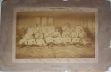 Hibernians (Cardiff) FC 1895 Vintage Mounted Original Rugby Team Photograph