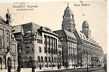 17801 AK DRESDEN Landesständische Bank Ringstraße mit reformierter Kirche 1913