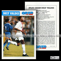 DELY VALDES JULIO CESAR (CAGLIARI, PARIS SAINT-GERMAIN PSG) Fiche Football 1995