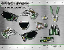 Kawasaki KX 125 250 2003 up to 2008 graphics decals kit Moto StyleMX