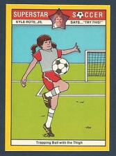 COLONIAL-SUPERSTAR SOCCER-1976- #28-TRAPPING BALL WITH THE THIGH