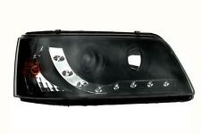 VW T5 TRANSPORTER VAN 03 on BLACK R8 DEVIL EYE DRL HEADLIGHTS