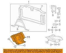 GM OEM Radiator Core Support-Engine Under Splash Shield 22781371