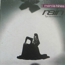 "MARCIA HINES ""Rain (Let The Children Play)"" 1994  4Trk CD *Remixes ""NobodyKnows"""